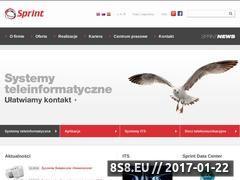 Miniaturka domeny www.sprint.pl