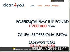 Miniaturka domeny www.sprzatamy24.pl