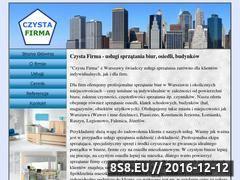 Miniaturka domeny www.sprzataniefirm.pl