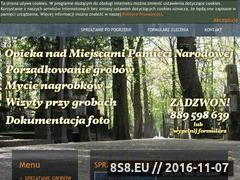 Miniaturka domeny sprzataniegrobow.waw.pl