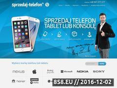 Miniaturka domeny www.sprzedaj-telefon.pl