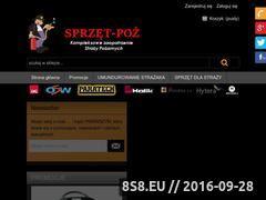 Miniaturka domeny sprzet-poz.pl