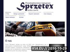 Miniaturka domeny sprzetex.pl