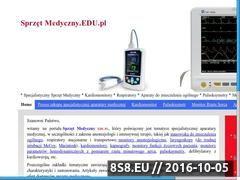 Miniaturka domeny www.sprzetmedyczny.edu.pl