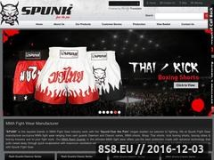 Thumbnail of MMA Rash Guards - Spunk Fight Gear Website