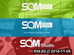 Miniaturka domeny www.sqm.pl