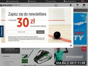 Zrzut strony Squash - rakiety, buty, naciągi, owijki, akcesoria SquashTime.pl