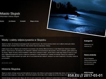 Zrzut strony Słupski Serwis Informacyjny