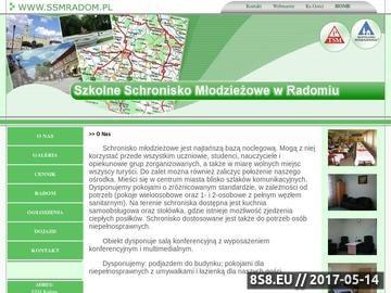 Zrzut strony SSM RADOM - schronisko młodzieżowe