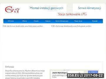 Zrzut strony Stacja - gaz LPG Białystok