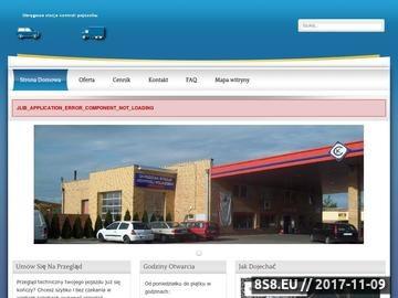 Zrzut strony Okręgowa stacja kontroli pojazdów Poznań
