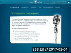 Miniaturka domeny stagevoice.pl