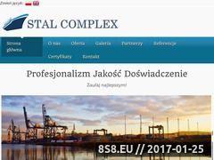 Miniaturka domeny www.stal-complex.pl