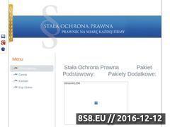Miniaturka domeny stalaochronaprawna.pl