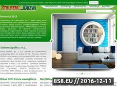 Miniaturka domeny www.stalremdrzwi.pl