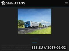Miniaturka domeny www.stan-trans.com.pl