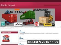 Miniaturka domeny staplerimport.eu