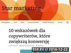 Miniaturka domeny www.star-marketing.pl