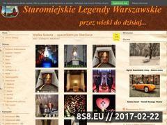Miniaturka domeny www.staremiasto.waw.pl