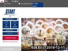 Miniaturka domeny www.starthotel.pl