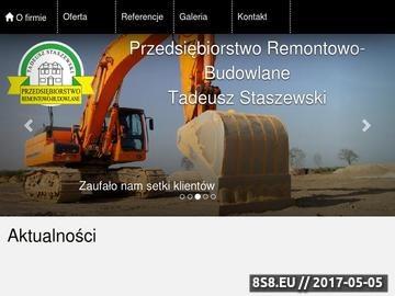 Zrzut strony Budowy domów Warszawa