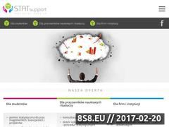 Miniaturka Analizy statystyczne i pomoc statystyczna - STATsupport (statsupport.pl)