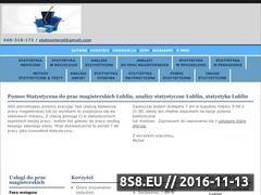 Miniaturka domeny statystyka-lublin.pl