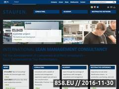 Miniaturka domeny www.staufen.pl
