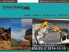 Miniaturka domeny staw-trans.pl