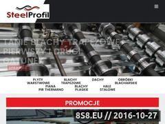 Miniaturka domeny www.steelprofil.eu