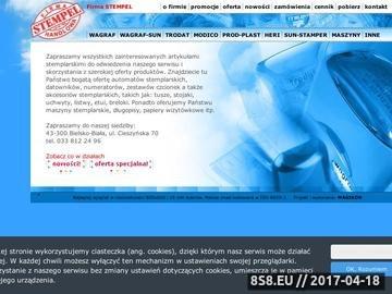 Zrzut strony STEMPEL. Pieczątki, Datowniki, Numeratory