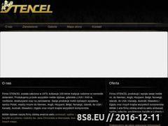 Miniaturka domeny www.stencel.com.pl