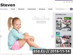 Miniaturka domeny www.steven.pl