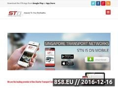 Bus Charter Service - STN Asia Website