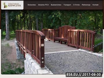 Zrzut strony Zakład stolarski - schody drewniano-stalowe