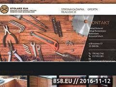 Miniaturka domeny stolarz-elk.pl