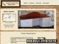 Miniaturka domeny stolarz.rzeszow.pl