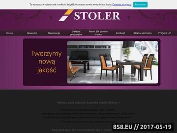Zrzut strony Stoły i krzesła - fabryka mebli Stoler