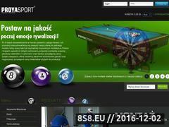 Miniaturka domeny www.stolybilardowe.net