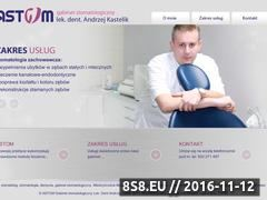 Miniaturka domeny www.stomatolog-kastelik.pl