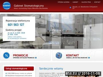 Zrzut strony Stomatolog Słupsk