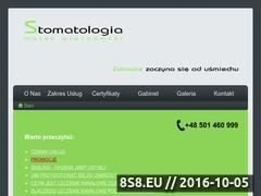 Miniaturka domeny www.stomatolog.wroc.pl