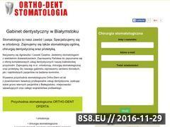 Miniaturka domeny www.stomatologia-bialystok.com.pl