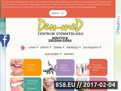 Miniaturka domeny www.stomatologiadenmed.pl