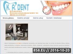 Miniaturka domeny stomatologiakadent.pl