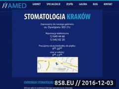 Miniaturka domeny stomatologiakrakow.pl