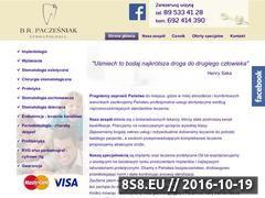 Miniaturka domeny www.stomatologiapaczesniak.pl