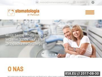 Zrzut strony Stomatologia dr Pańczyk