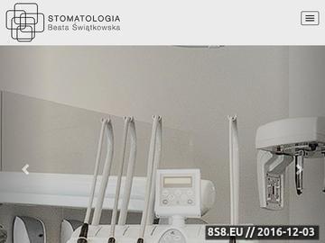 Zrzut strony Implantologia Kraków