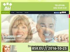 Miniaturka domeny stomatologpiastow.com.pl